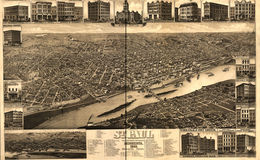 E66 - St Paul Minnesota State Capital and County Seat of Ramsey Co - 1883
